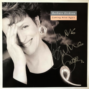 Barbara Dickson - Coming Alive Again (LP) (Signed (EX-/VG)